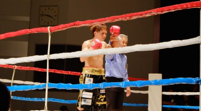 ボクシング観戦行ってきました。