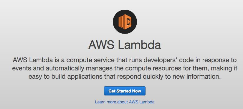 LambdaでS3にアップロードされが画像をサムネイルにしてみた。